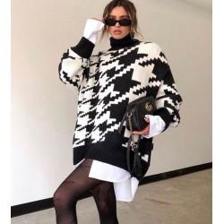 Pulover oversized fashion...