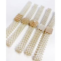 Centura elastica din perle