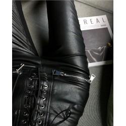 Pantaloni Piele artificiala...