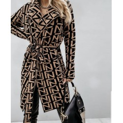 Cardigan brown fashion