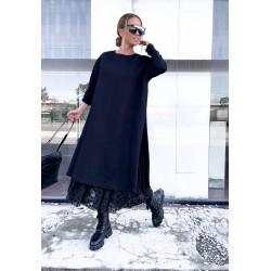 Rochie oversized lace Mio
