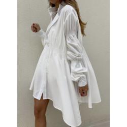 Camasa lunga fashion white