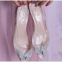 Pantofi Transparent...