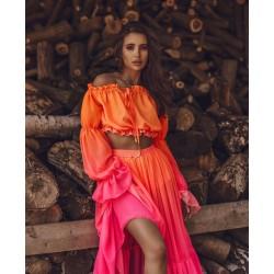 Compleu Adora orange pink
