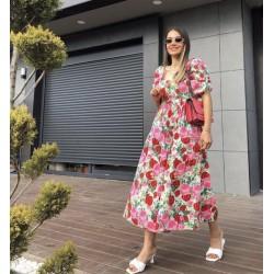 Rochie cu flori Anne