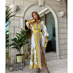 Rochie fashion yellow