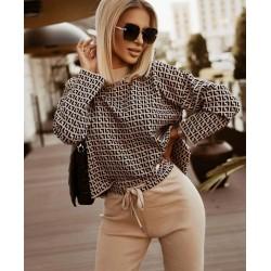 Compleu tricot Vero coffee