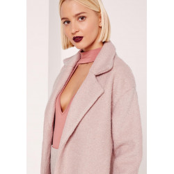 Palton  Dusty Pink