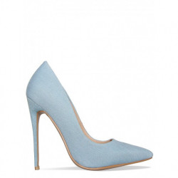 Pantofi Stiletto Denim Baby Blue