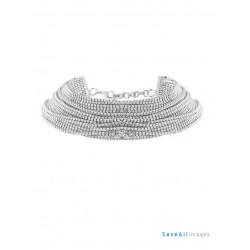 Chocker silver multilayer crystal