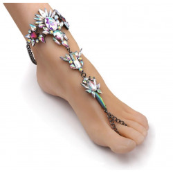 Fashion ankle bracelet multicolor