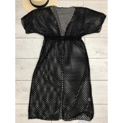 Black cover up Dress