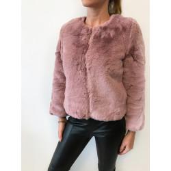 Gecuta Furry Dusty Pink