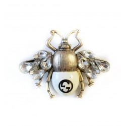 Brosa g bug white crystal