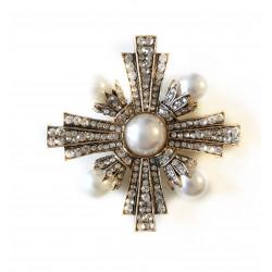 Brosa fashion pearls