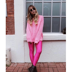 Colanti neon pink