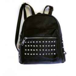 Backpack negru rockstar