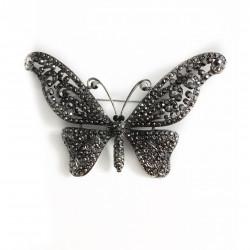Brosa fluturas argintiu