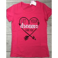 Tricou dreams pink