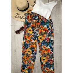 Pantaloni flower