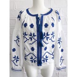 Bluza romanian chic