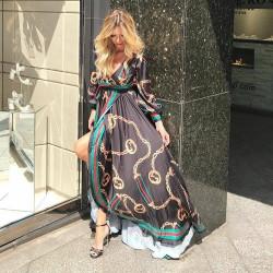 Rochie black glam