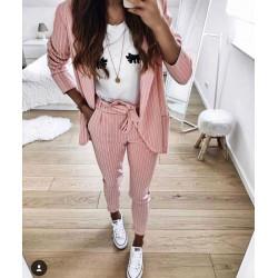 Compleu roz cu tricou
