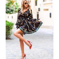 Rochie scurta black glam