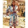 Rochie camasa fashion white