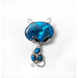 Brosa pisica blue