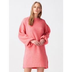 Pulover rochie pink