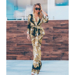 Rochie gold fashion asimetrica