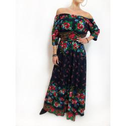 Rochie flori bardot