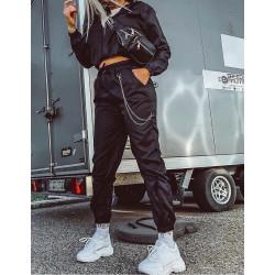 Compleu black new fashion
