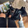 Sneakers cu talpa groasa negri