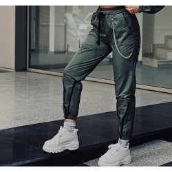 Pantaloni army green