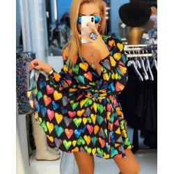 Rochie camasa colorata