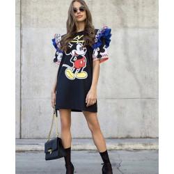 Rochie Mickey cu volanase