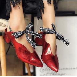 Pantofi Bella White