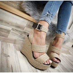 Sandale animal print