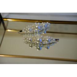 Set 2 clipsuri perle