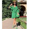 Rochie voal verde
