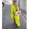 Rochie vaporoasa light green