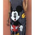 Rochie cu dungi Mickey