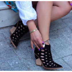 Botine summer black