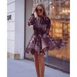 Rochie cu tinte