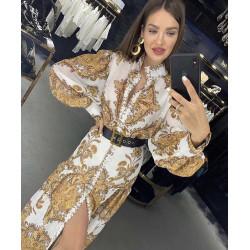 Rochie white glam