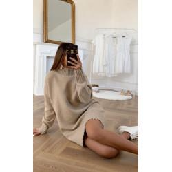 Rochie neagra tricot