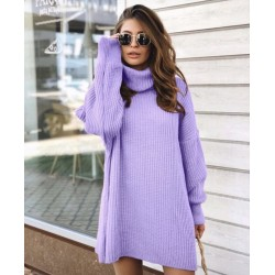 Pulover oversized lila