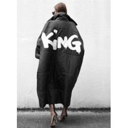 Geaca oversized king